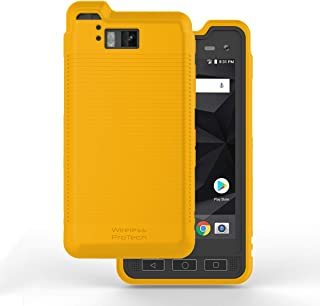Sonim XP8 Case, Wireless PROTECH Flex Skin Material Case for Sonim XP8 XP8800 (Yellow)