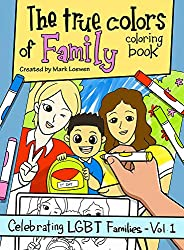 LGBTQ friendly family coloring book