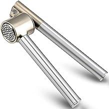 IKEA - ايكيا- Garlic Press Mincer - 304 Stainless Steel Garlic Crusher & Peeler Set, Detachable, Heavy-duty, Rust Proof Ga...
