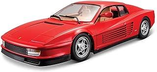 Bburago B18-26014 1:24 Scale Race and Play of The Ferrari Testarossa Sports Car Die-Cast Model