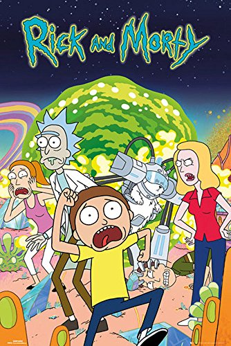 empireposter 744784 Rick and Morty – Group...