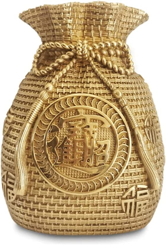 ZSM safety Money Bank Piggy Coin Manufacturer regenerated product Pure Shape Copper G Bag