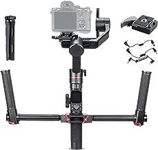 Feiyu AK2000 Dual Handle Grip Kit, FeiyuTech a2000 3-Axis Handheld Gimbal Mirrorless DSLR Stabilizer for Sony a9 a7 ii a6500 Series Canon 5D Panasonic GH5 GH4 Nikon D850 max Payload 2.8kg