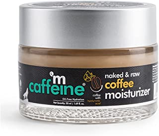 mCaffeine Oil-Free Coffee Moisturizer | Instant Hydration, Regulates Excess Oil | Hyaluronic Acid, Pro-Vitamin B5 | All Sk...