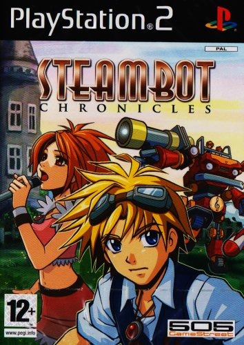 PS2 STEAMBOT CHRONICLES スチームボット 海外版 PlayStation2