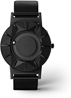 EONE Bradley Element Black Steel Ceramic Quartz Watch