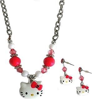 cb7bfb84e Amazon.com: Hello Kitty - Necklaces & Pendants / Jewelry: Clothing ...