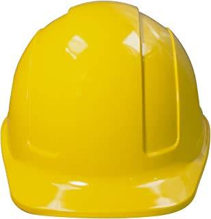 JORESTECH Safety Hard Hat Yellow HDPE Cap Style Helmet with 4-Point Adjustable Ratchet Suspension For Work, Home, and General Headwear Protection ANSI Z89.1-14 Compliant HHAT-01