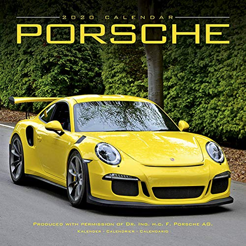 Porsche Calendar 2020