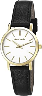 Pierre Cardin Womens Analogue Classic Quartz Watch with Leather Strap