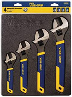 IRWIN Vise-Grip 4 Piece Adjustable Wrench Tray Set - 6 Each/Case