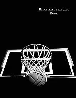 Basketball Stat Log Book: Basketball Player Status Organizer | Basket Ball Stats Journal & Record Book