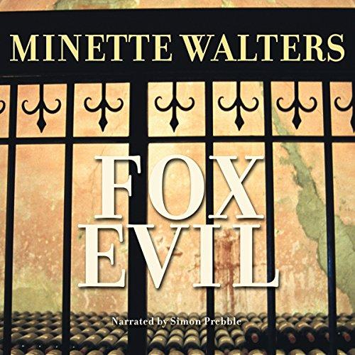 Fox Evil audiobook cover art