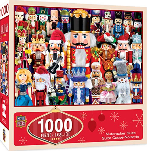 MasterPieces Seasonal Holiday Jigsaw Puzzle, Nutcracker Suite, Featuring Art by Bonnie White, 1000 Pieces