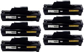 Kit 6 Toner Compatível Samsung Mlt-d111 D111 Mlt-d111s D111s M2020 M2020fw M2020w M2070 M2070w