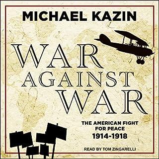 War Against War audiobook cover art