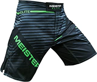 Meister Elite Flex Fighter Board Shorts for MMA Training and Gym Workouts