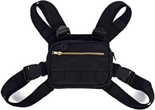Men Women Shoulder Bags,Tactical Vest,Chest Rig Bag,Fashion Chest Rig Bag, Adjustable Crossbody Bags, Shoulder Front Pack,...