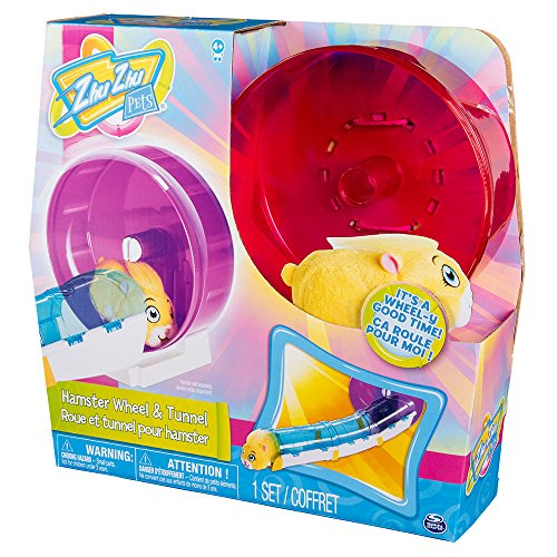 ZhuZhu Pets Hamster Wheel with Tunnel