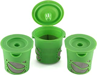 Greenco Reusable Coffee Filter, Refillable K-cup for Keurig K-cup Brewers - Pack of 3