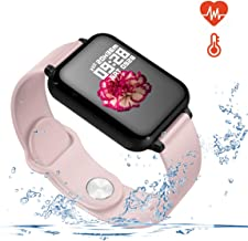 Smart Watch for Android and iOS Phones with Heart Rate & Blood Pressure Monitor,..