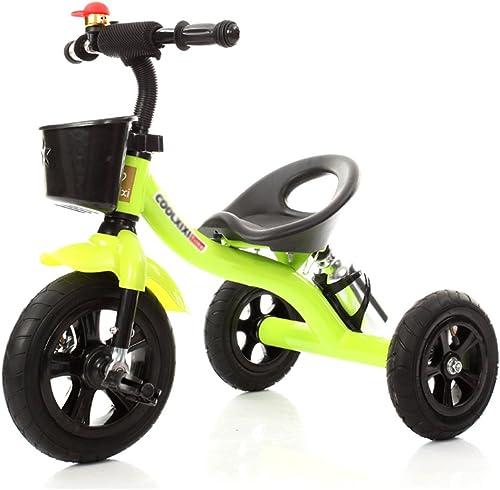 Ven a elegir tu propio estilo deportivo. Triciclos- Coche de Juguete de la Bicicleta Bicicleta Bicicleta del Niño del Carro de bebé de la Bicicleta Niños para los Niños (Color   verde)  muy popular