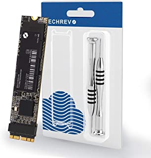 MECHREVO 256GB SSD for MacBook Air Pro Retina Mid 2013 2014 2015 2016 2017 Upgrade Kit, Replacement for Mac A1465 A1466 A1398 A1502 SSD