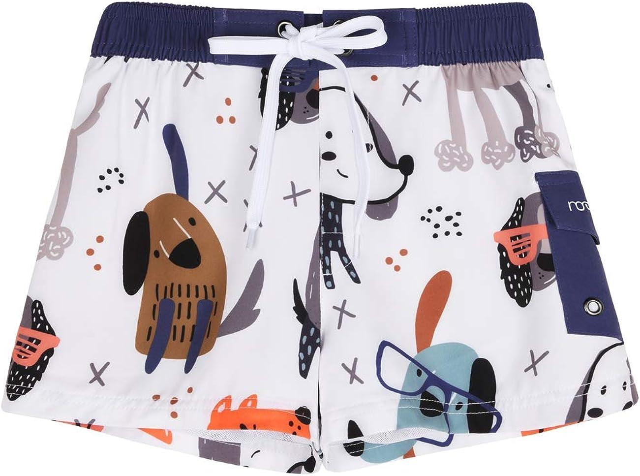 Nonwe Boy's Swim Shorts Quick Dry Printed P Special price Soft Brand new Drawsting Cargo