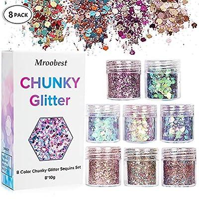Chunky Glitter Glitter Nagel