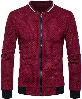 XLDD Mens Baseball Varsity Jacket Lightweight Slim Fit Flight Bomber Jacket Casual Outwear Full Zip Baseball Jacket Tactic...