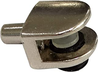 AERZETIX: 20x Portaestantes soporte para estante Ø5mm de