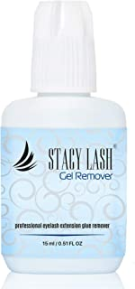 GEL REMOVER for Eyelash Extension Glue Stacy Lash 15 ml/Fast Lash Adhesive Dissolution time - 60 seconds/Aquamarine Color and Pleasant smell