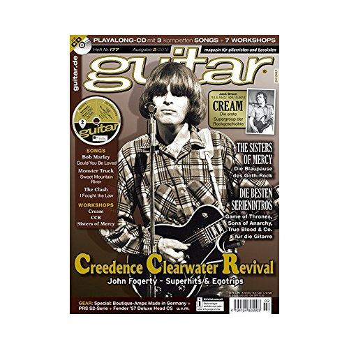 Preisvergleich Produktbild Guitar Ausgabe 02 2015 - Creedence Clearwater Revival- mit CD - Interviews - Workshops - Playalong Songs - Test und Technik