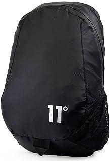 Nylon Ripstop Backpack Black Schoolbag 11D-2035 Eleven DEGRES Bags