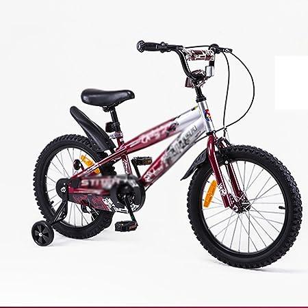 MAZHONG Bicicletas Bicicletas para niños de 18 pulgadas Niños ...