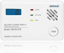 Orno OR-DC-619 Detektor Tlenku Węgla, Biały
