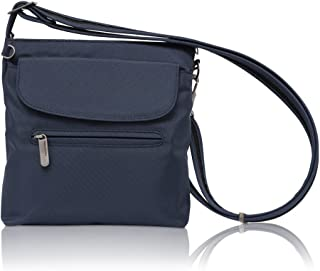 Travelon Anti-Theft Classic Mini Shoulder Bag, Blue - Exclusive Color (Blue) - unknown