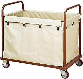 WPJ Lessery Trousse de buanderie Chariot à blanchisserie avec Sacs de Tissu détachables durables, Chariot à Chariots de bu...