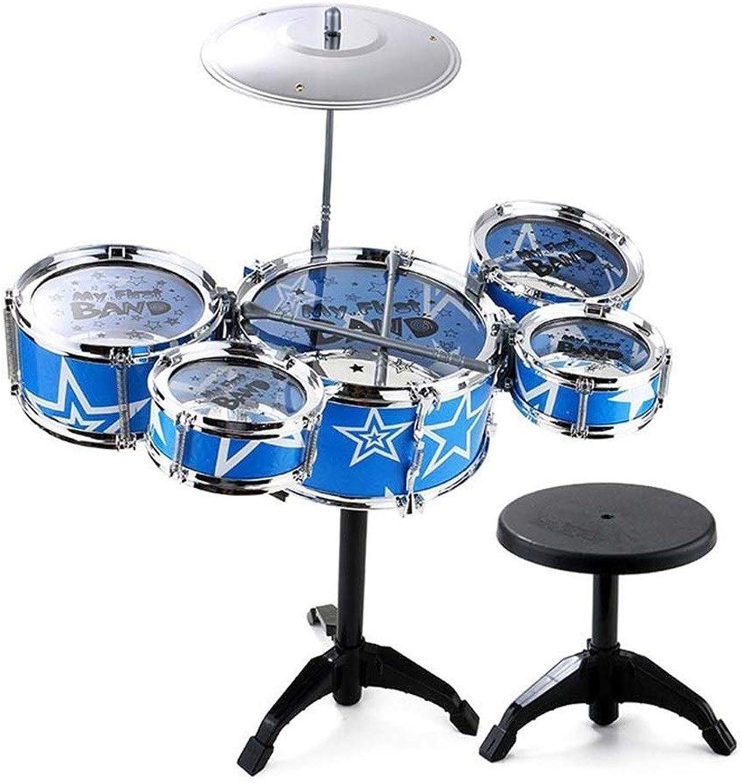 X-Kindertrommel Kindertrommeln Anfnger üben Schlagzeug Jazz Schlagzeug Schlag Musikinstrumente Spielzeug Geburtstagsgeschenke (gre   S)