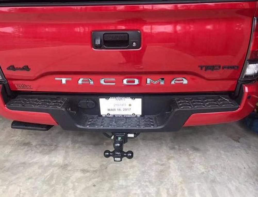 Tanya for Toyota Tundra 2014-2019 Tailgate Insert Letter for Toyota Tundra, Black Black