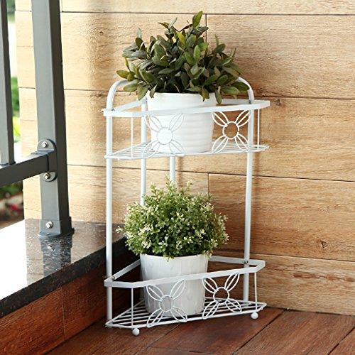 Étagère fleur verte salon plancher type étagère fleur verte multi-étages étagère étagère européenne