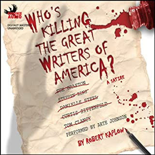 Who's Killing The Great Writers of America audiobook cover art