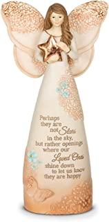 Pavilion Gift Company 19045 Light Your Way Memorial Stars in The Sky Angel Figurine, 7-1/2-Inch