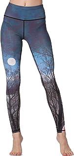 Whitewed High Waist Jungle Print Polyester Yoga Running Fitness Legging Pants