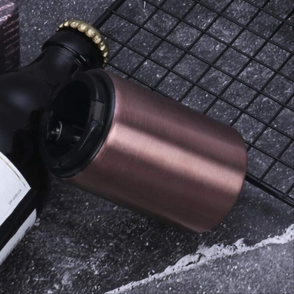 Bouchon Electrique Vin Rouge Tire Cadeau Ouvreur de bi/ère en acier inoxydable magn/étique Ouvre-bouteille automatique Aimant portatif Ouvre-bouteilles de cuisine Accessoires de bar de cuisine argent