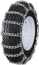 Grizzlar GTU-236 Garden Tractor Snowblower 2 Link Ladder Alloy Tire Chains 12.5x4.50-6 12x7-4 13x4.1-6 13x4.00-5 13x4.00-6 13x5.00-6 4.10-6NHS 4.10/3.50-6 4.10-6
