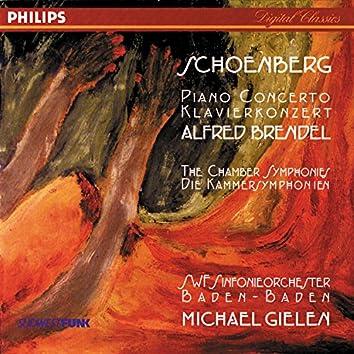 Schoenberg: Piano Concerto; Chamber Symphonies Nos. 1 & 2