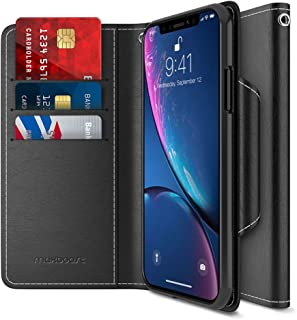 Maxboost Wallet Case Compatible Apple iPhone XR Case (2018 6.1