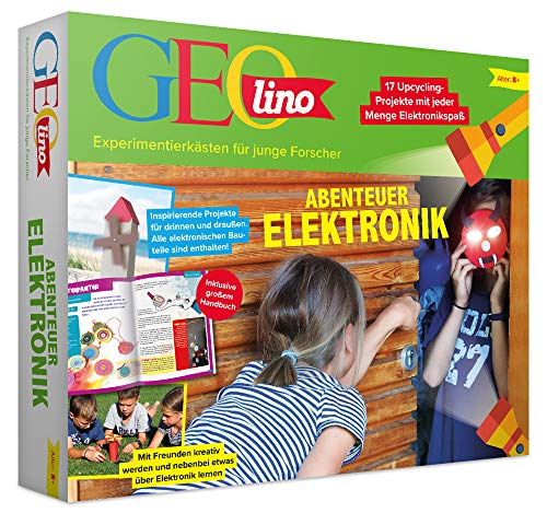 FRANZIS GEOlino Abenteuer Elektronik | 17 spannende Projekte, die Spaß machen | Auch als Einstieg für Technikmuffel | Inklusive Kopier- und Bastelvorlagen | Ab 8 Jahren