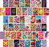 Artivo Indie Wall Collage Kit Ästhetische Bilder 50 Set 10